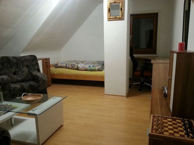 Simple Room near SBAHN (public transport)