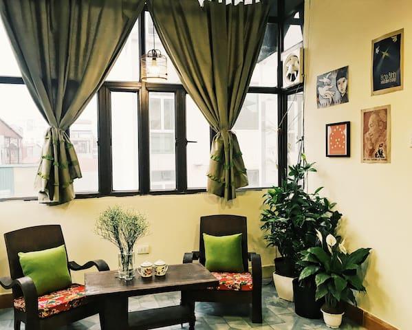 Vintage Studio-Heart of Old Quarter - Hàng Bông - Apartamento