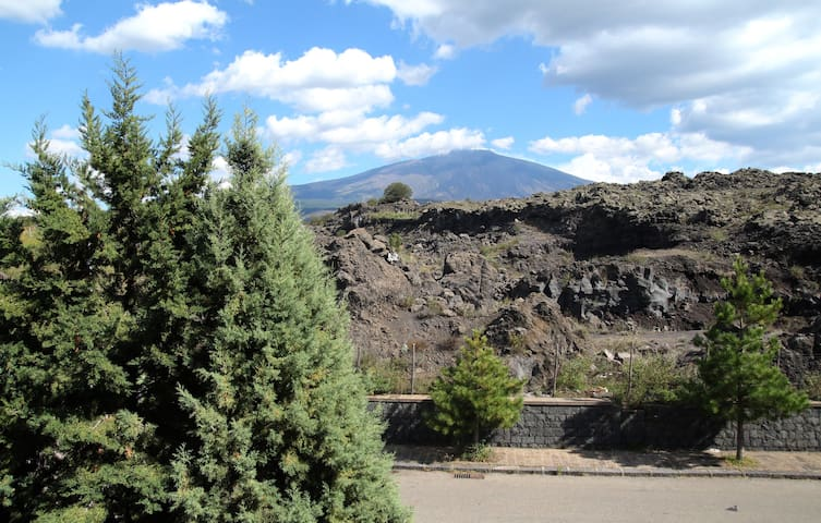 Etna View Apartment in Bronte