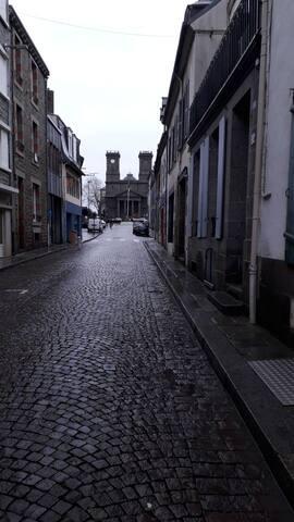 Logement  de ST Brieuc cartier calme au centre