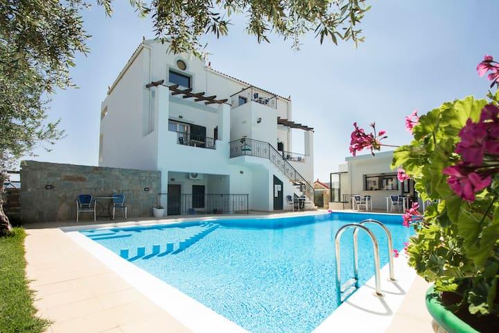 Duplex 2BD/2BR,Swimming Pool, Near Balos-Falasarna