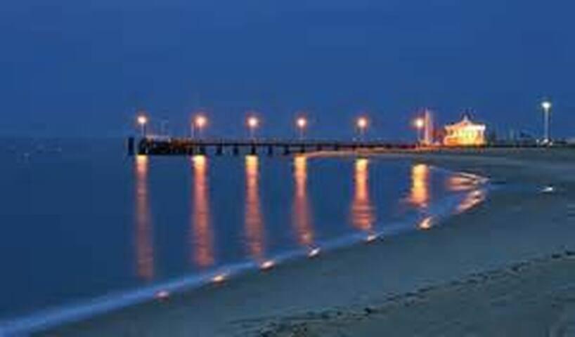 Balade du soir sur la plage d'Eyrac à 300m
