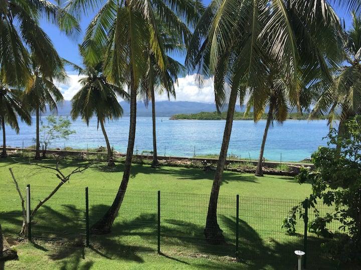 Studio confort vue mer résidence sécurisée piscine