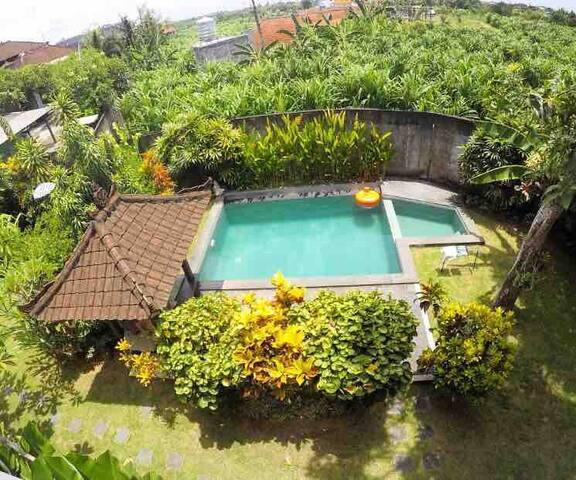 Room in the Secret Garden Villa . Tropical vibes#1
