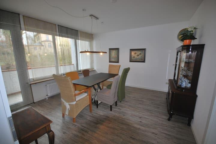 Exclusive, zentrumsnahe 5-Zimmer-Wohnung, ca.105qm