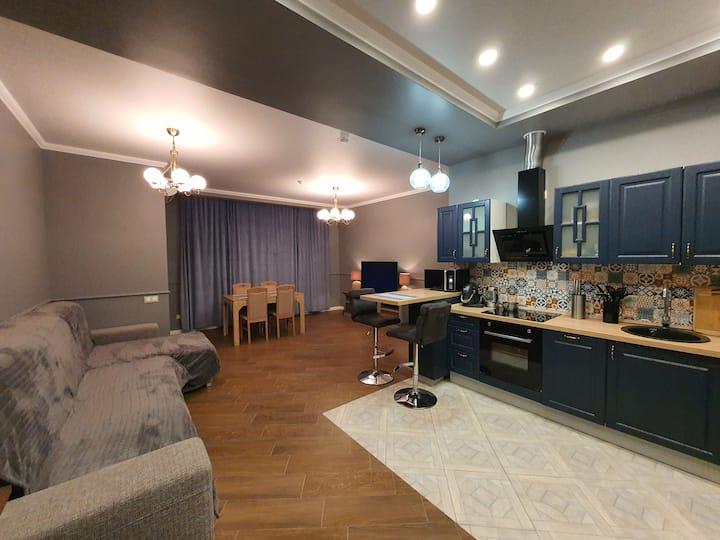 Апартаменты Делюкс в апарт-отеле Baltic Point