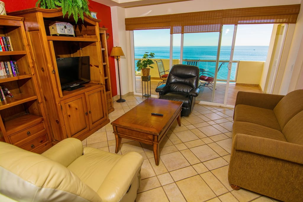 Great view of the Sea of Cortez from the Family Room