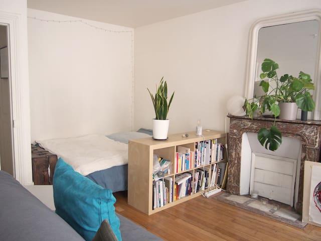 Cosy Architect studio2p St Ambroise/Marais Balcon
