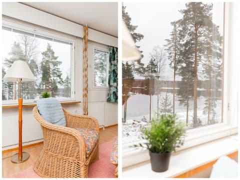 Appartamento sauna sul lago Näsijärvi
