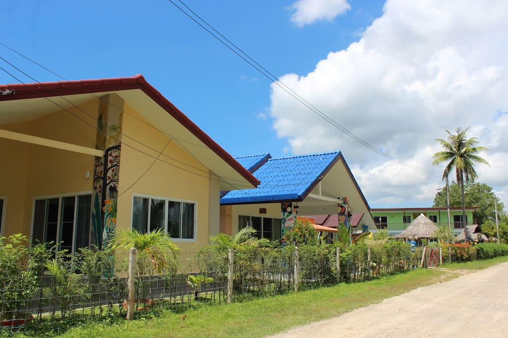 The house is located at Chill Out Village, Ao nam Mou area