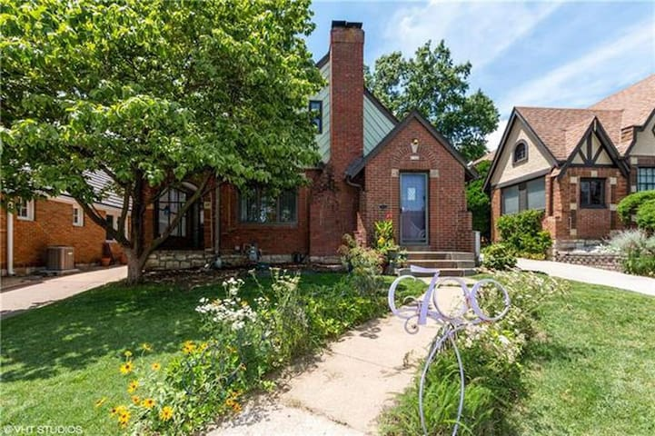 Modern and Warm Tudor in Brookside