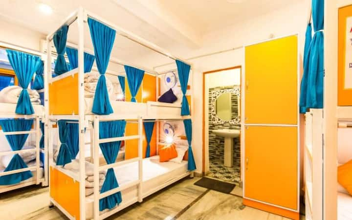 Bed in 6 Bed female Dorm @goStops Rishikesh