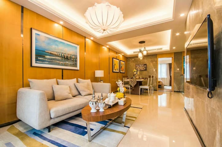 缘木居·峨眉山·青庐晓院---三室影院loft旅居