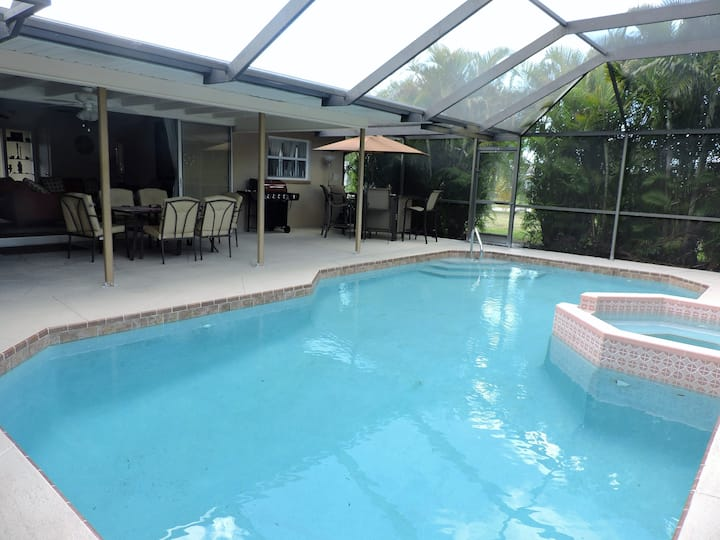 Villa Geissler weekly heated pool and canal