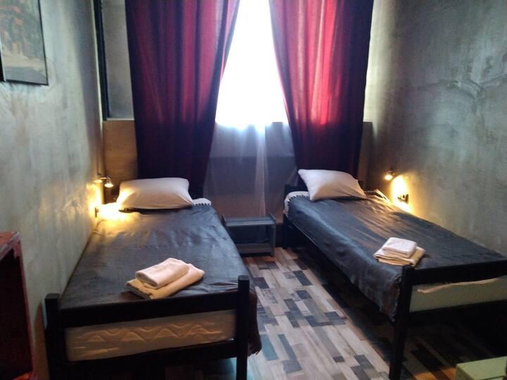 Двухместный номер с 2 кроватями (Улучшенный)