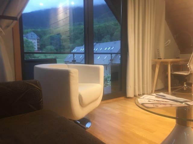 ATICO CON TERRAZA EN VIELHA - Vielha - Loft-asunto