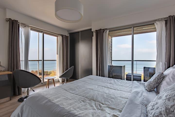 Chambre d'hôtes Océane, vue panoramique sur la mer