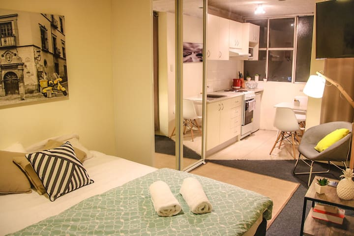 Furnished studio w/ aircon in CBD - Surry Hills - Loft