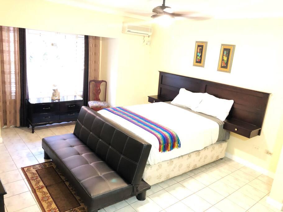 Cozy, Modern Bedroom