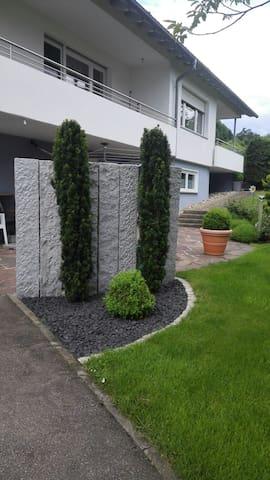Unser gepflegter Garten