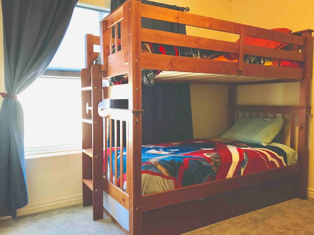2 Bunk Suite in Townhome Loft