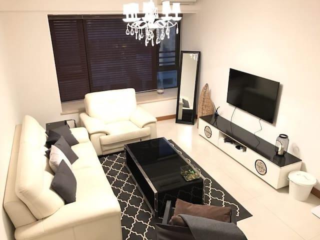 珠海正民宿!华发世纪城高档3房公寓整租 @nice homestay - zhuhai