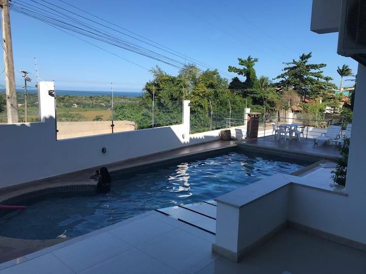 Casa de férias em Arraial D´Ajuda - Boa vista.