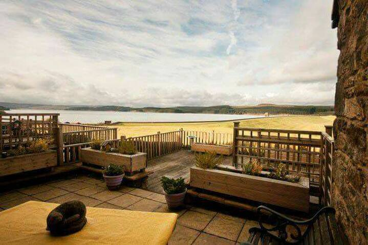 Cottage overlooking Kielder Water - Yarrow - Houten huisje