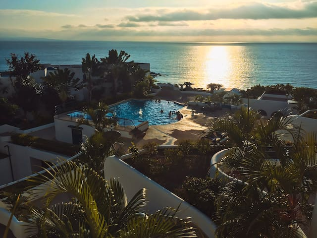 Suite con excelente vista y cerca de la playa