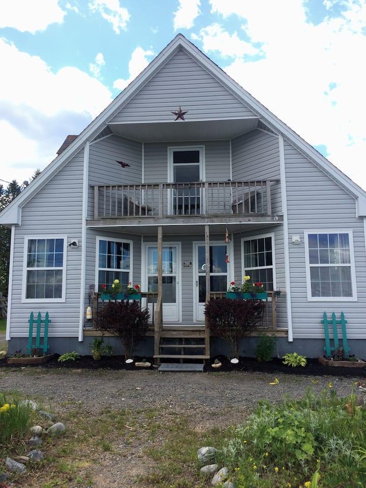 """Lubec Ocean View Home """"Crow Town"""" - Sleeps 5-7."""