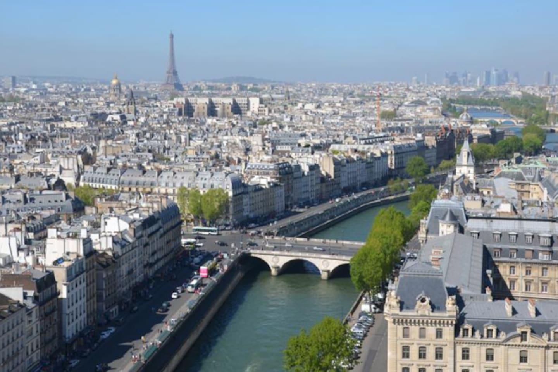 En plein coeur de Paris