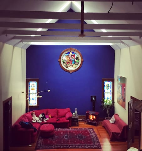Brattleboro Vermont Ski Retreat Converted Church - Dummerston - Inny