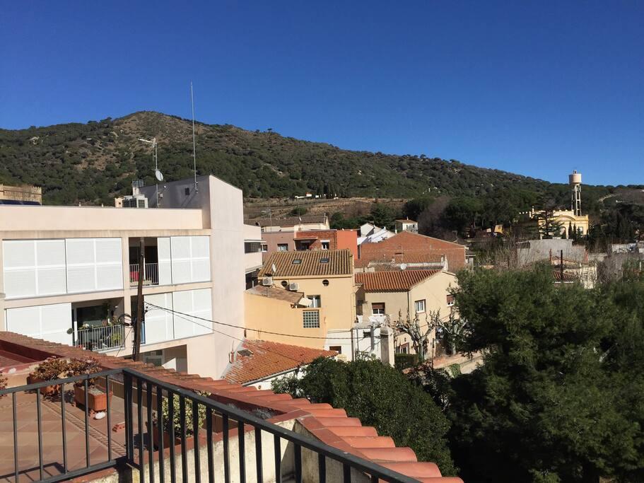 Las vistas a la Montaña