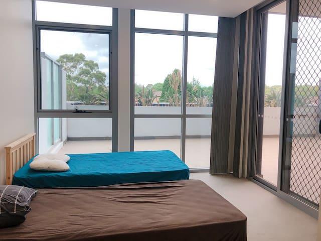 2 bedroom apartment next to Strathfield station