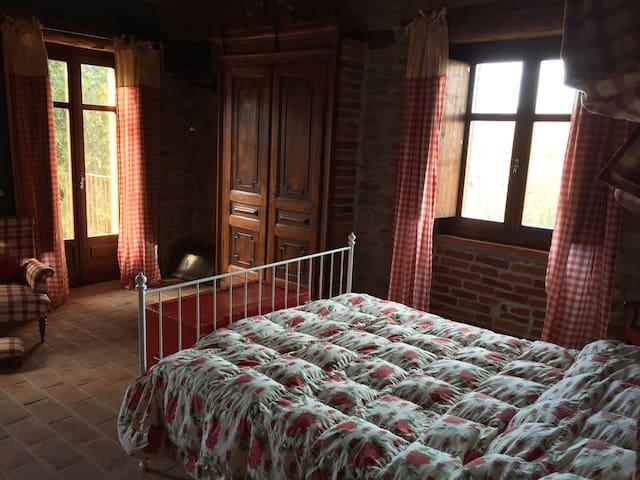 Osteria del Maiale Pezzato Camera 1 - Sinio - Bed & Breakfast