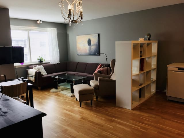 Central two bedroom apartment with a nice view