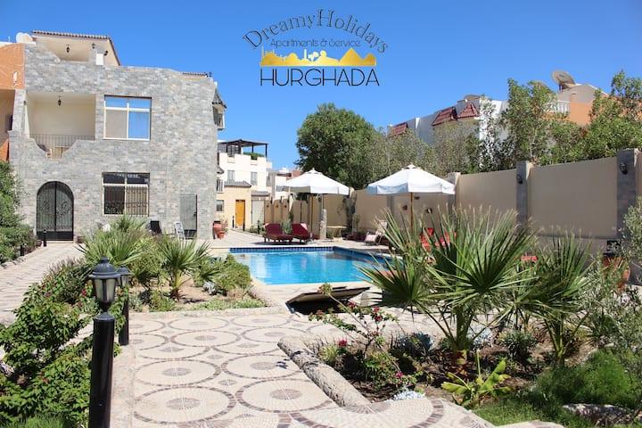 Smaragd Apartment- Dreamy Holidays Hurghada