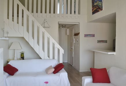 Bel appartement ensoleillé 2 pers. centre port - Agde