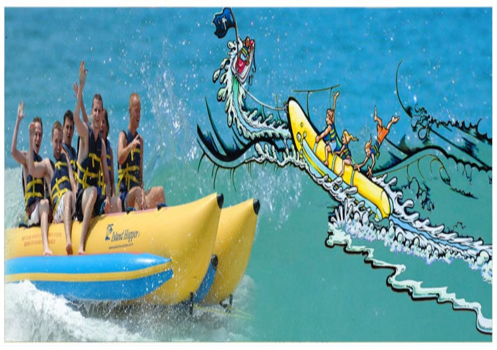 banana boat rent  start from end march 2018