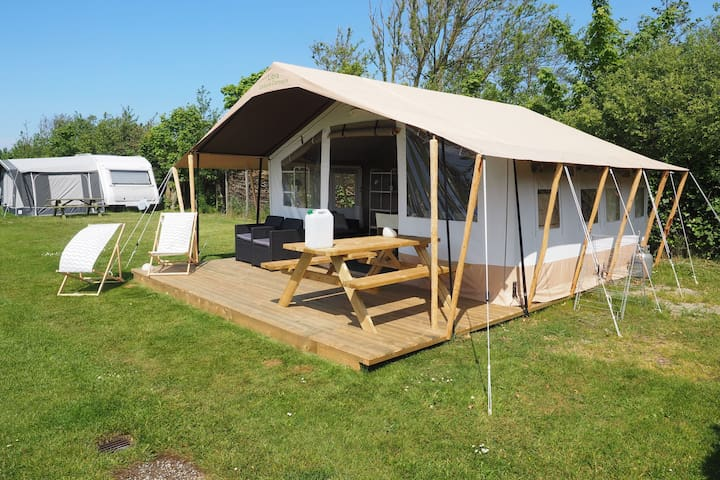 Luxury camping near the dunes of Terschelling