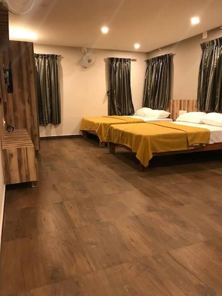 Quadruple Room with Balcony at Somwarpet Karnataka