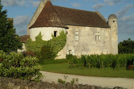 Charming Castle near by Saint Emilion - Guillac - 住宿加早餐