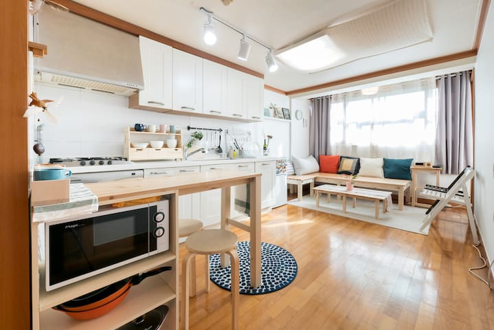 [Open Sale] 5min Stn/Cozy 2Rm for 6 - 서울특별시 - Appartement