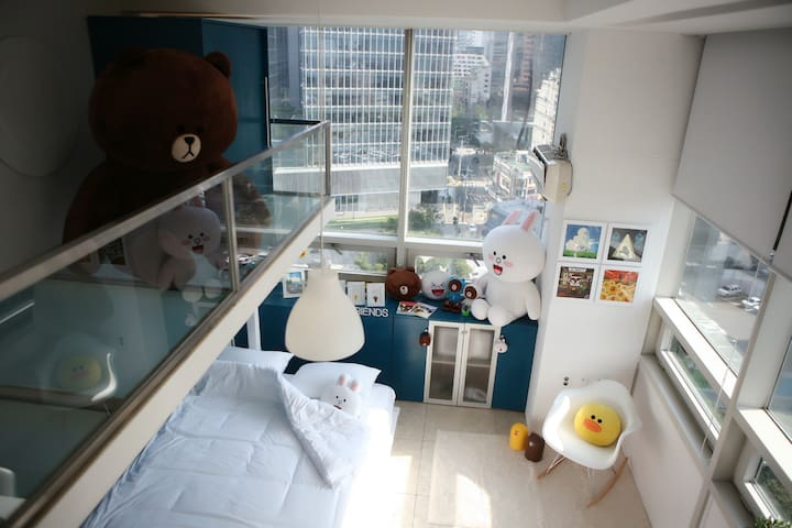 [Myeongdong] LINE Friends House - Jongno-gu - Condominium