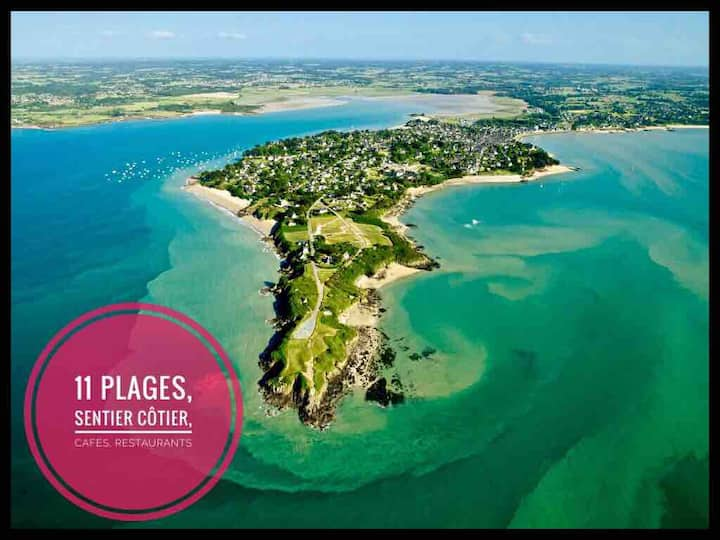 ❤️200m from the beach on peninsula in Brittany ❤️