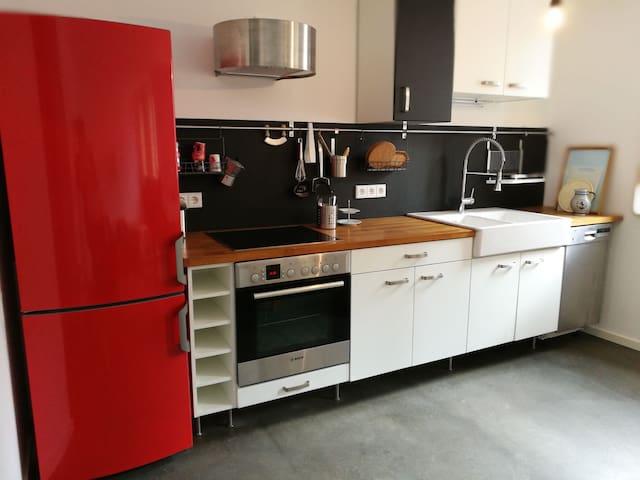 Große Wohnung in Neubau (65qm) ab Mai/Fotos folgen - Friedberg (Hessen) - Appartement