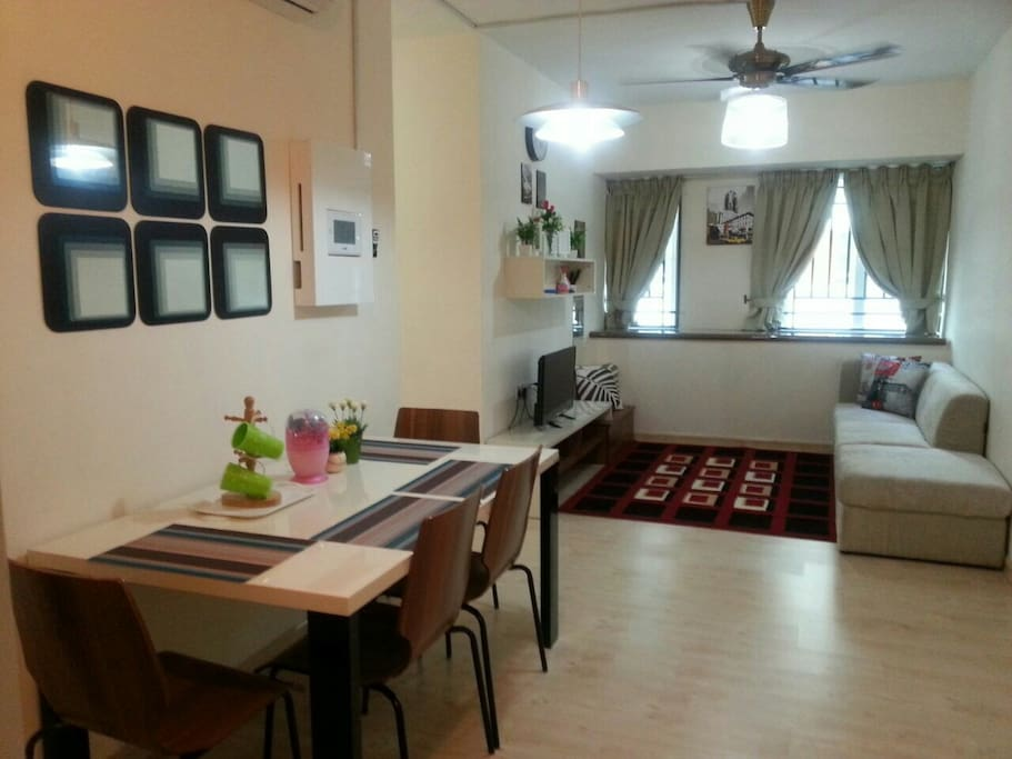Air Conditioning Living Hall