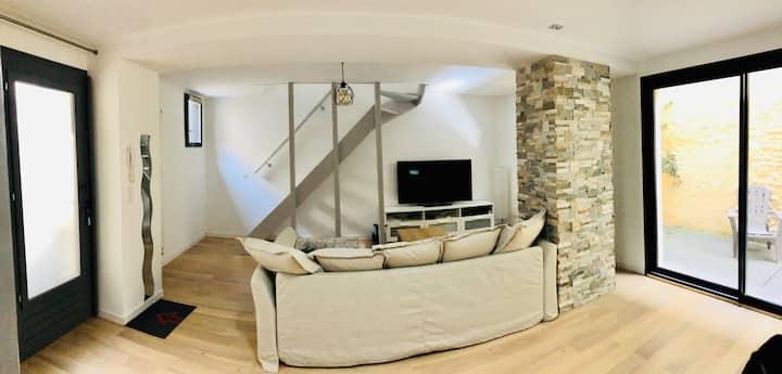 T3 Duplex Design - Pau Centre / Quartier Halles