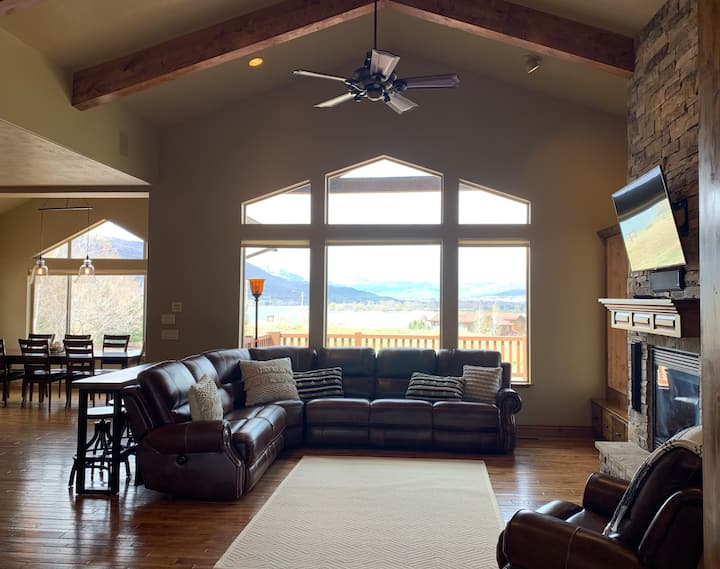 Longer Stay Snowbasin Pineview Home for 16 Guests