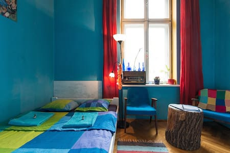 Old Town Kraków Sunny Bedroom - Kraków - Apartment